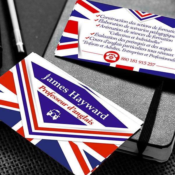 Cartes de visites de standing par GD Creative Design