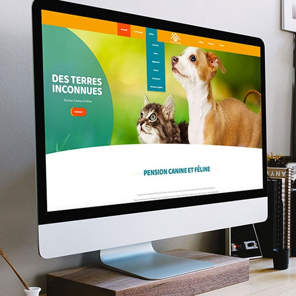 Site internet moderne et dynamique par GD Creative Design
