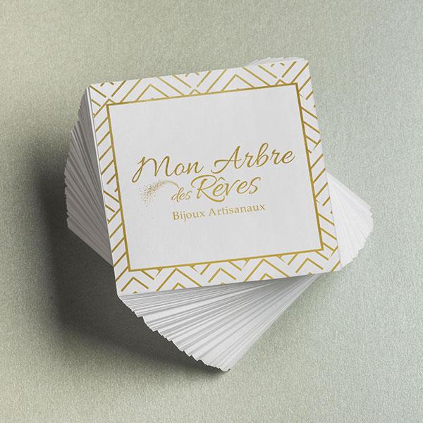 Carte Mon Arbre des Rêves par GD Creative Design