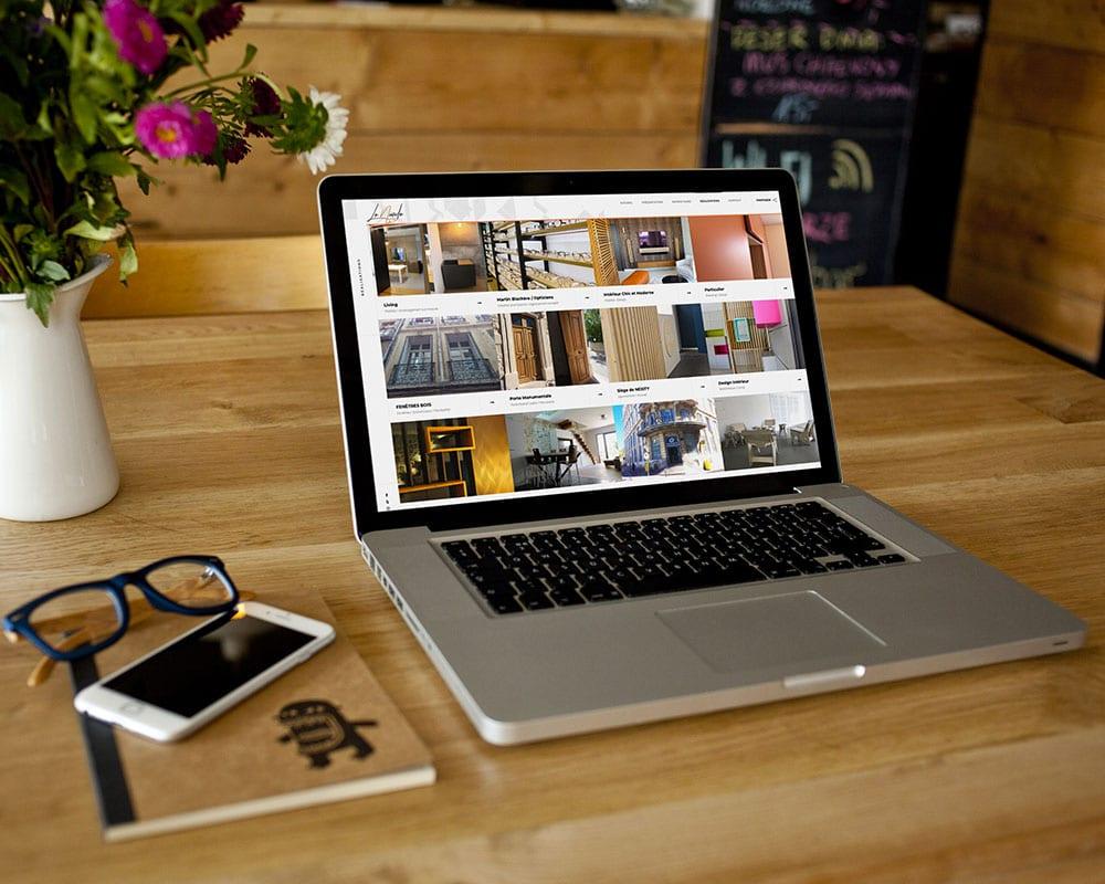 Site web Lo Nardo par GD Creative Design