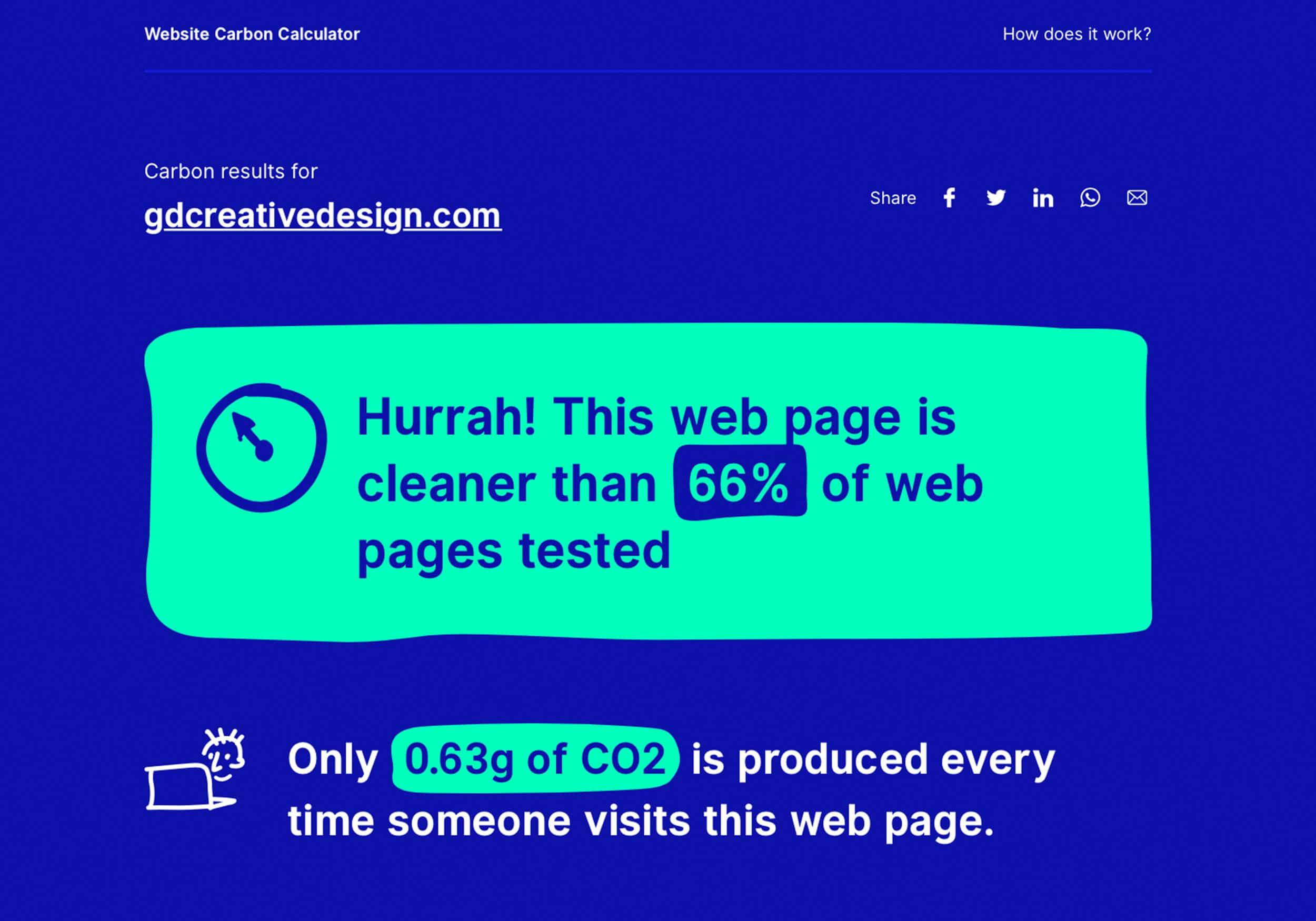 Petites astuces pour un site plus écolo par GD Creative Design