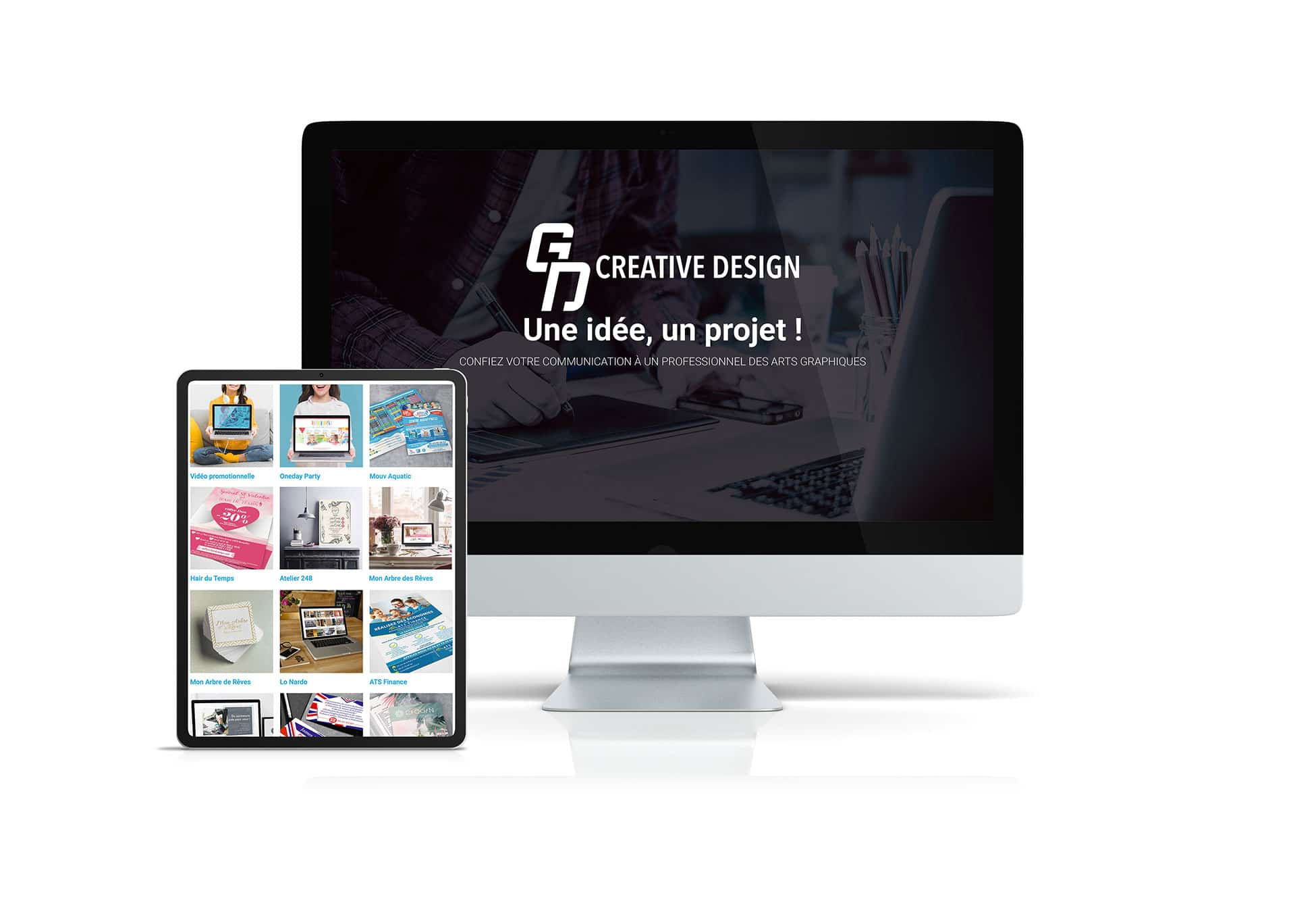 GD Creative Design Web designer et graphiste