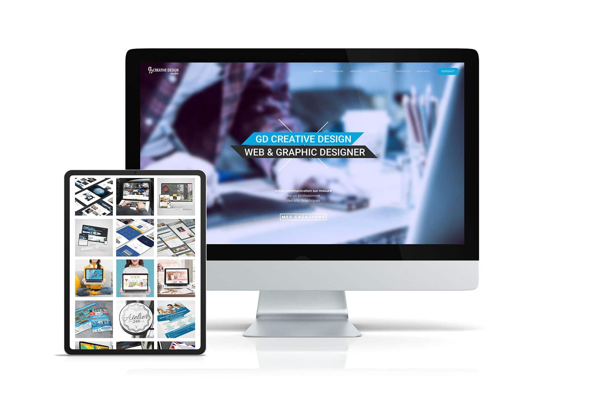 GD Creative Design Web designer et graphiste