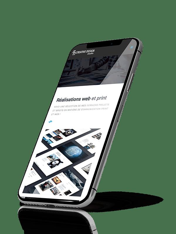 GD Creative Design communication web et imprimée