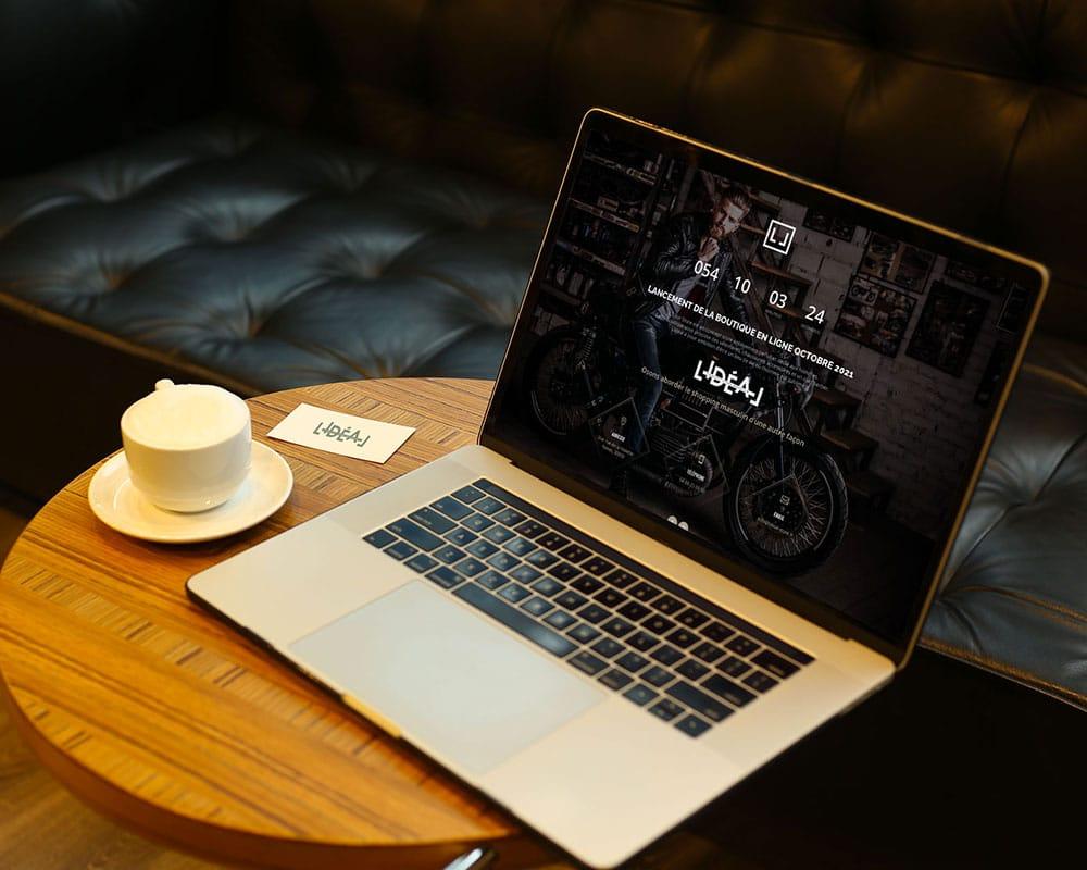 Site web L'Idéal Store